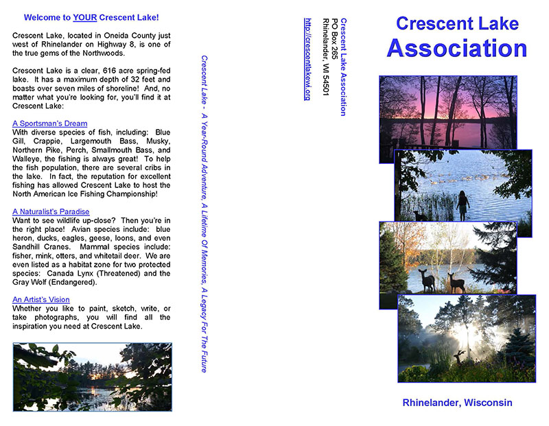 Welcome to you Crescent Lake
